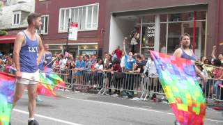 Flaggots @ NYC Pride Parade 2015