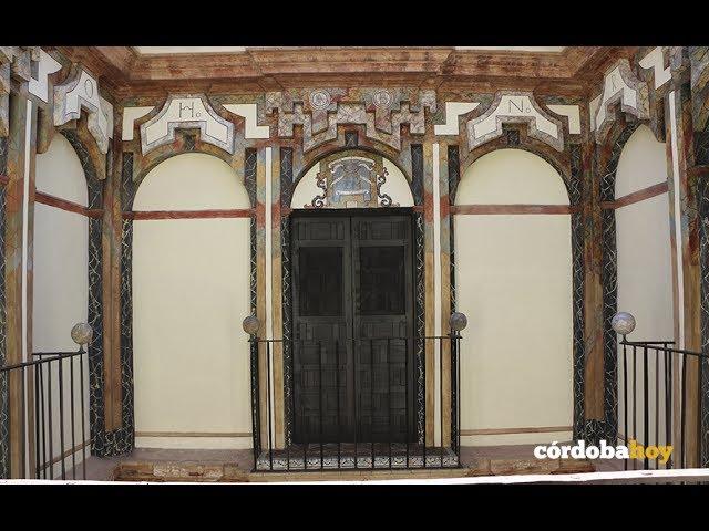 Concluidas las obras del Palacete Barroco del Convento de Santa Cruz