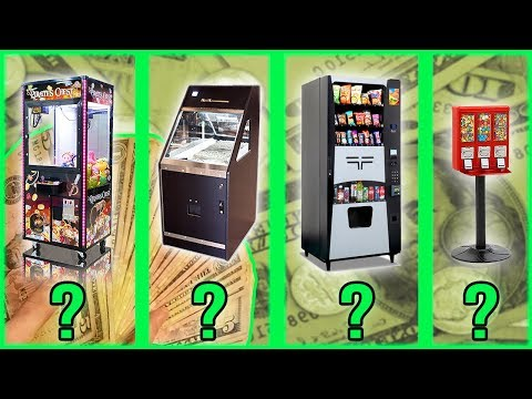 Which Vending Machine Is Best For Passive Income?