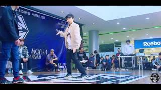 batuka vs step w2m dance festival 2017 winter popping top 8