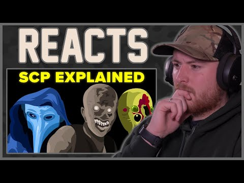 Royal Marine Reacts To The SCP Foundation - EXPLAINED by the infographics show!