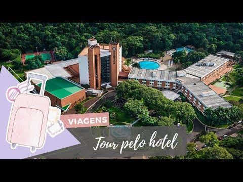Tour pelo hotel de Foz do Iguaçu - Diário de Viagem
