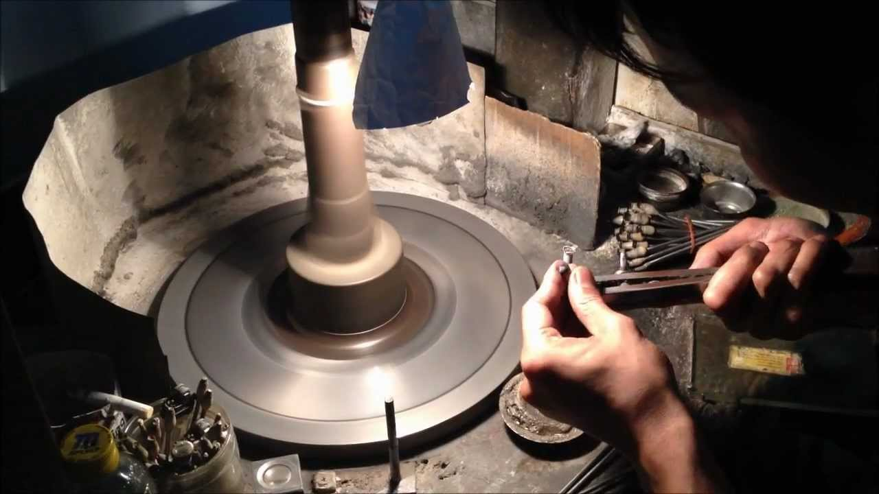 Gemstone Lapidary Cutting And Polishing By Gandhi