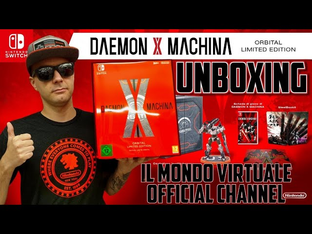 DAEMON X MACHINA ORBITAL LIMITED EDITION - UNBOXING - ITA