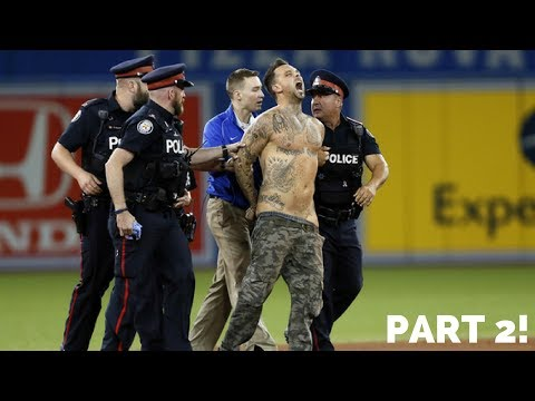 MLB CRAZY FANS ON FIELD ᴴᴰ