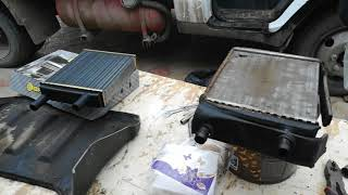 замена радиатора печки на газель 3009 двигатель 405