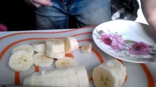 Как можно сделать вкусный десерт из бананов