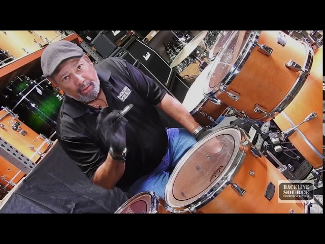 How To Change Drum Heads and How to Tune a Drum Kit with Backline Source