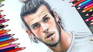 Dibujo de Gareth Bale speed drawing