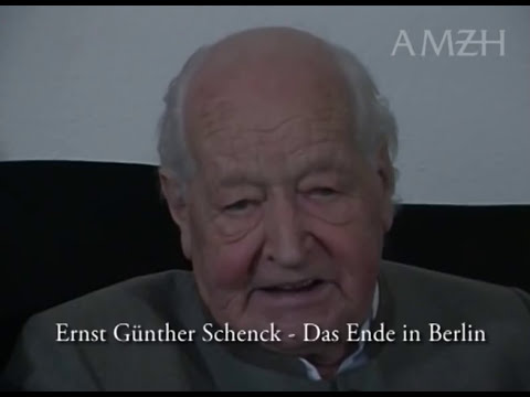Das Ende in Berlin 1945 - Ernst Günther Schenck -Zeitzeugen berichten- Agentur Meier zu Hartum