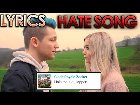Rezo - Hate Kommentare Song Ft. Julia Beautx [Lyrics] (Official Video By Rezo)
