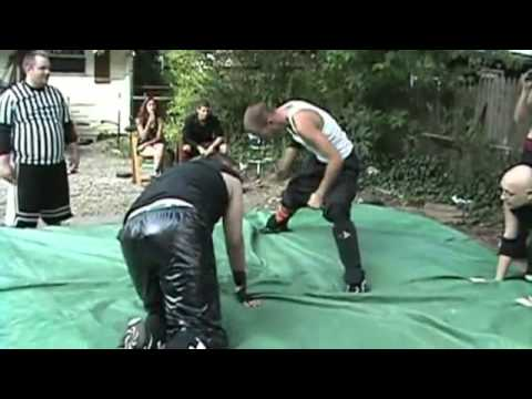 Backyard wrestling movie clips