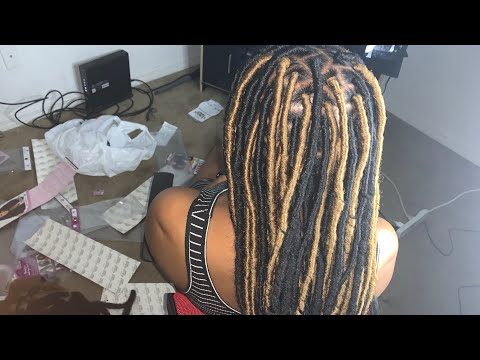 How To: GODDESS FAUX LOCS FOR BEGINNERS! (Step By Step) Tutorial thumbnail