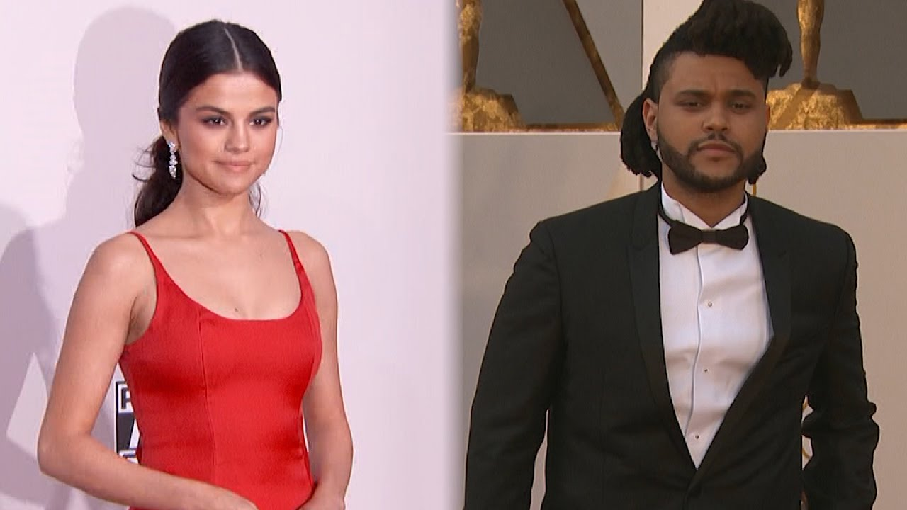 Selena Gomez & The Weeknd Look Madly In Love As She Kisses Him In Nothing But A Football Jersey