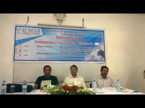IAS 16, ICMAB Khulna Branch, Presentation by Mr  M  G  Mortoza, ACMA