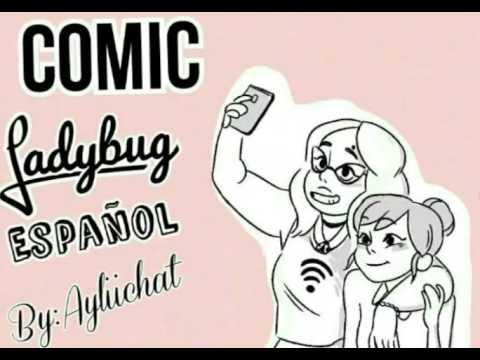 """""""Selfie"""" Mini Comic Ladybug español"""