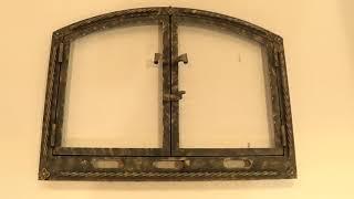 жаропрочное стекло и двери для каминов от Гласс Керам