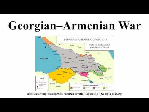 Georgian–Armenian War