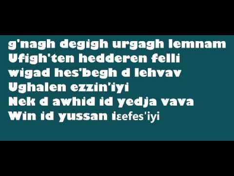 akli yahyaten - jahagh bezaf da meziane + paroles -
