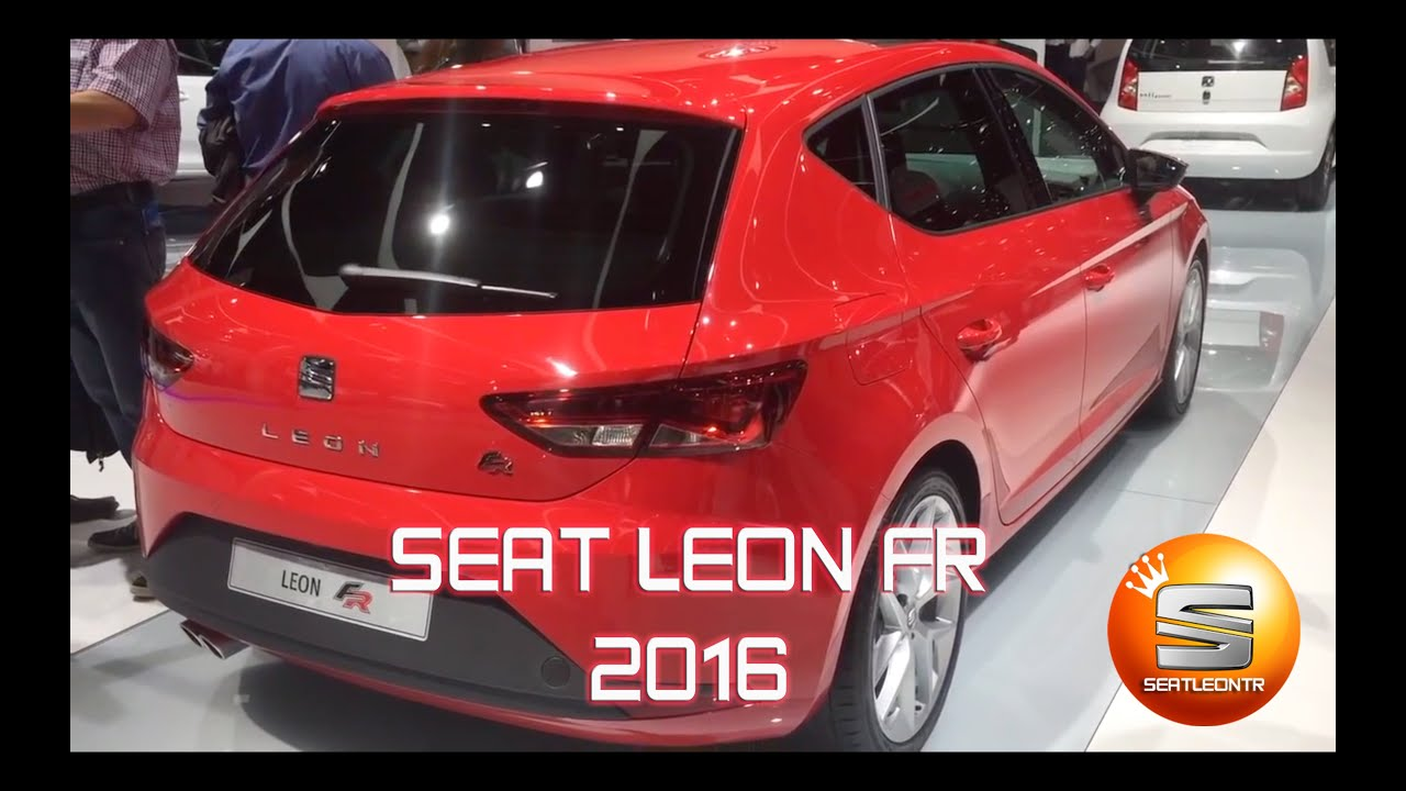new seat leon fr 2016 youtube. Black Bedroom Furniture Sets. Home Design Ideas