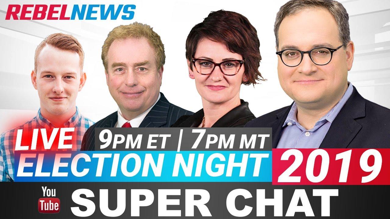 Election special! Rebel News livestream TONIGHT!   Keean Bexte