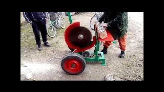 Dangerous Extreme Wood Firewood Processing Machines Fastest Skill, Automatic Cut Splitter Chainsaw