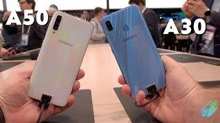 Samsung Galaxy A30 i A50 + S10e #MWC2019   Robert Nawrowski