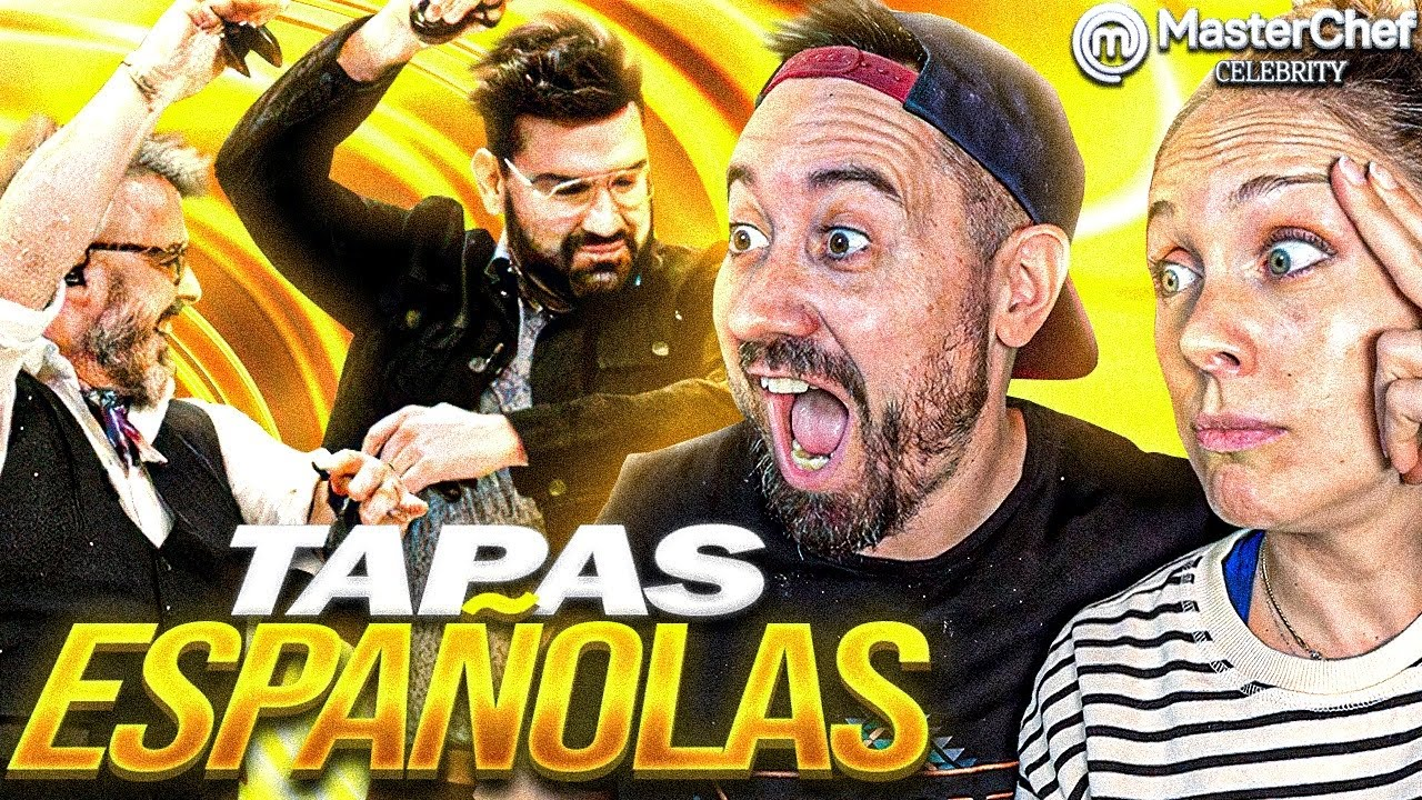 ESPAÑOLES REACCIONAN a MASTERCHEF ARGENTINA 🇦🇷  *TAPAS ESPAÑOLAS*