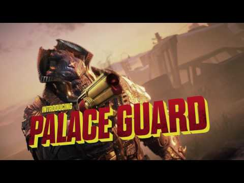 Gears of War 4 - Golden Weekend Palace Guard Trailer