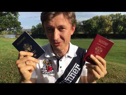 Паспорт России или Паспорт США? Двойное Гражданство! Часть 1: Плюсы и минусы паспортов России и США