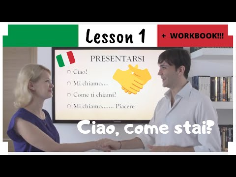 Italian in 30 days - LEZIONE 1 - LESSON 1