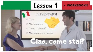 Italian in 30 days - LEZIONE 1 - LESSON 1 + PDF WORKBOOK
