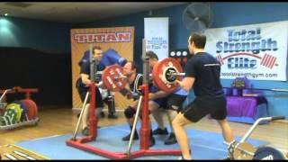 Total Strength Elite Max II (2013) - Dominic Cadden 66kg Weightclass - Raw Lifter