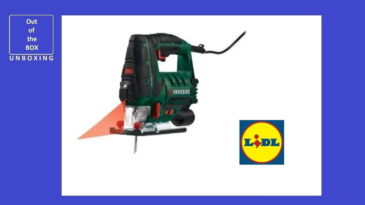 Parkside jigsaw pstd 800 b1 unboxing lidl fretsaw 800w for Seghetto alternativo parkside