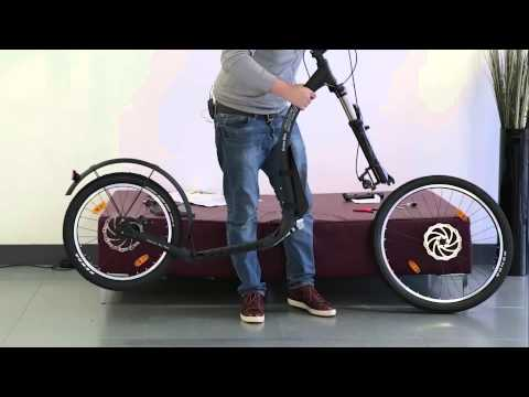 Kickbike : Cross Max 20 Disc Assembly Video - YouTube