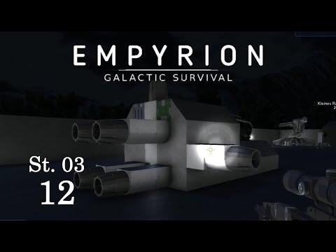 """Empyrion S03-12 """"Kampfraumschiff Lutz entsteht"""" Let's Play Gameplay German Deutsch"""