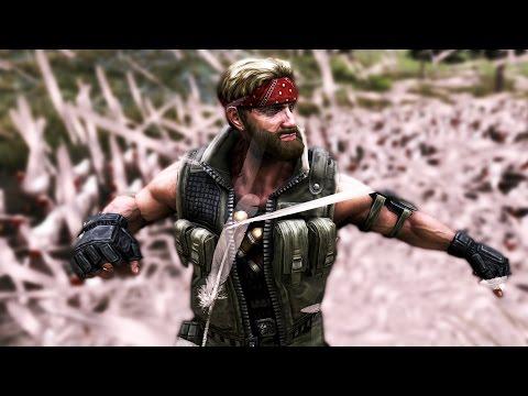 CHUCK NORRIS VS. 1,000 CHICKENS | Ultimate Epic Battle Simulator #2