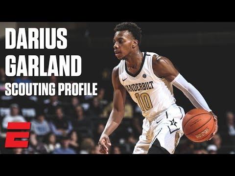Darius Garland preseason 2019 NBA draft scouting video | DraftExpress