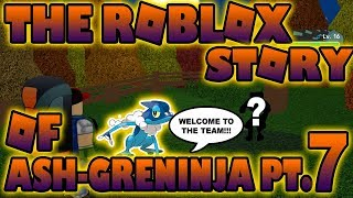 The ROBLOX Story of Ash-Greninja | S1 E7 | ~ ROBLOX Series