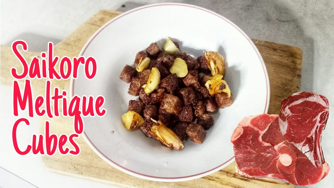 How To Cook Saikoro Steak Simple Ala Anak Kos Resep Beef Steak Youtube