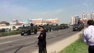 Военный парад, Астана, 7 мая 2015, сухопутные войска