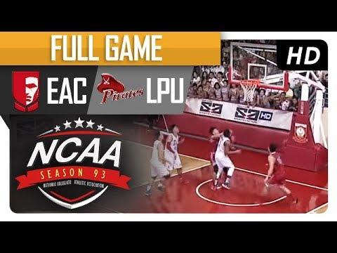 EAC vs. LPU | NCAA 93 | Full Game | 4th Quarter | August 10, 2017