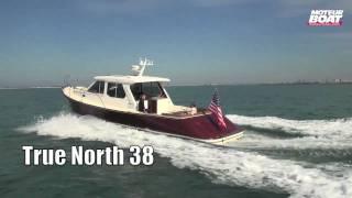 VIDEO TRUE NORTH 38 - Essai moteurboat.com