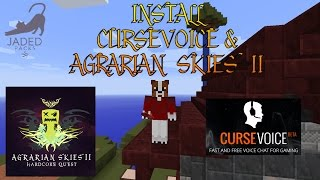 Agrarian Skies 2 -  - Download and Install - Ep 00 - Minecraft