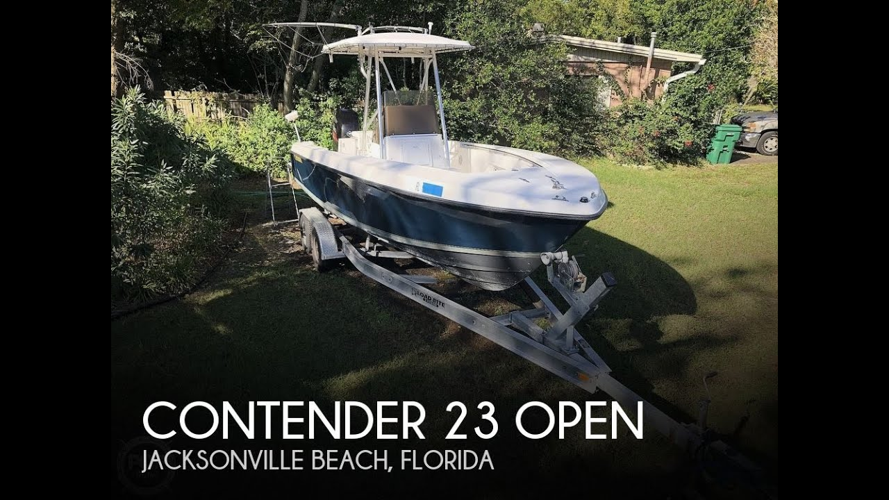 Used 1999 Contender 23 For Sale In Jacksonville Beach Florida