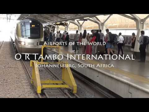 Four minutes at OR Tambo International Airport, Johannesburg