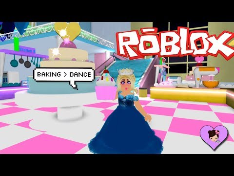 My First Baking Class in Princess School -  Roblox Royale High