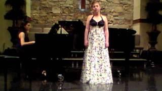 Rosie Williams sings Debussy