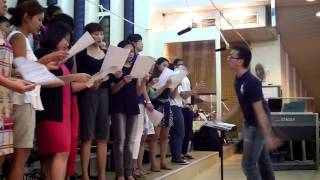 Dan Schutte Holy Darkness Ave Maria Choir Singapore