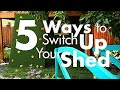 5 Creative Ways to Use a Shed - DIY Network